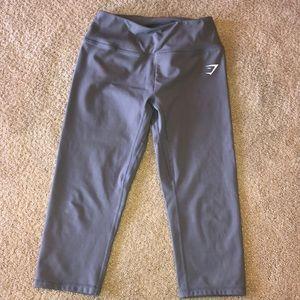 Gymshark cropped grey leggings